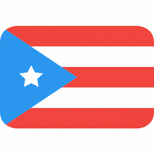 country, flag, nation, puerto, rico icon