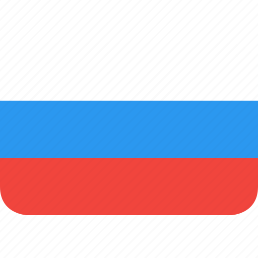 country, flag, nation, russia icon