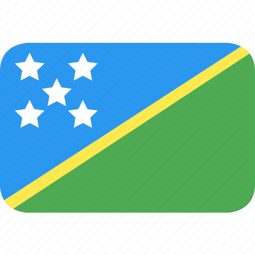 country, flag, islands, nation, solomon icon