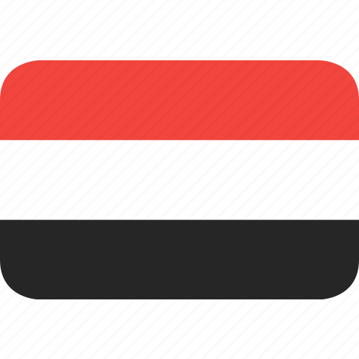 country, flag, nation, yemen icon