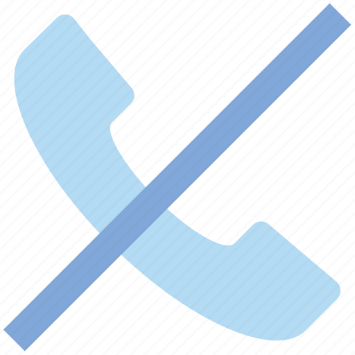Call off, communication, contact, end, landline, phone, telephone icon - Download on Iconfinder