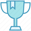 award, cup, reward, trophy, win icon