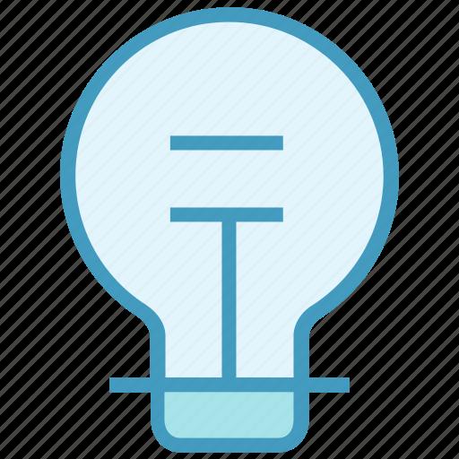 bulb, electric bulb, lamp, light, light bulb, power icon