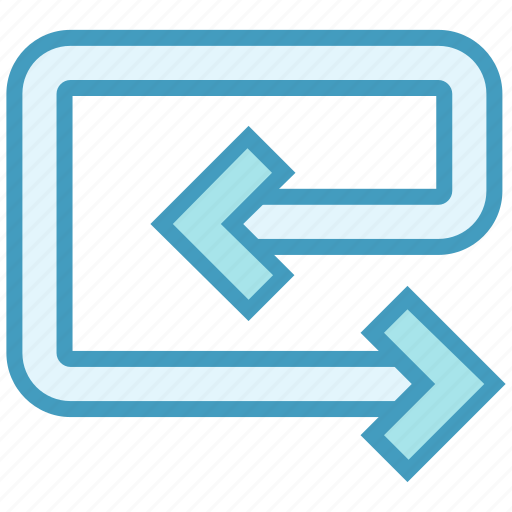 arrow, direction, line, loop, undo icon
