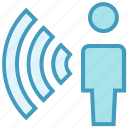 connected, network, signal, user, wifi, wifi user, wireless internet