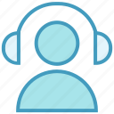 call, client with headphone, customer, headphone, person, support, user icon