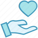 care, gesture, hand, healthcare, heart, heart care, love icon