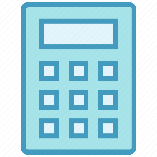 accounting, calc, calculator, finance, math, office, stationery icon