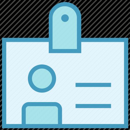 account, card, id, id card, identity card, profile, user card icon