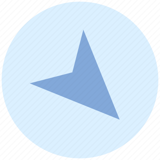 Arrow, compass, direction, location, map, navigation, pointer icon - Download on Iconfinder