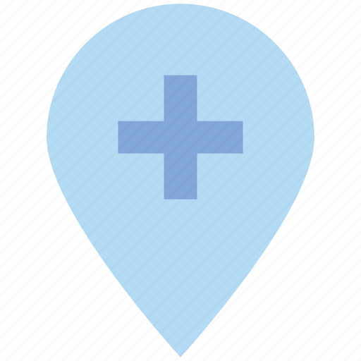 gps, location, map, navigation, pin, plus, point icon