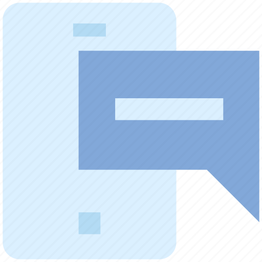 cell, chat, message, mobile, mobile chat, mobile message, smartphone icon