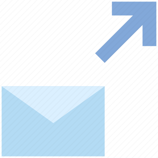 Arrow, email, envelope, letter, mail, message, send icon - Download on Iconfinder