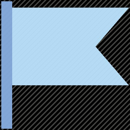 Banner, destination, flag, location, sign, signal icon - Download on Iconfinder