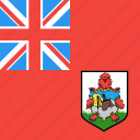 bermuda, country, flag, nation
