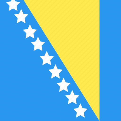 And, bosnia, country, flag, herzegovina, nation icon - Download on Iconfinder
