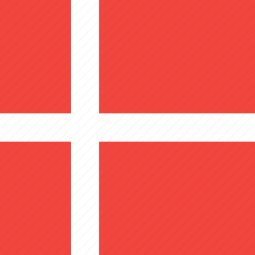 country, denmark, flag, nation icon