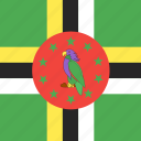 country, dominica, flag, nation