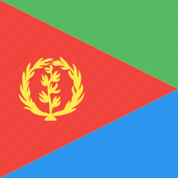 country, eritrea, flag, nation icon