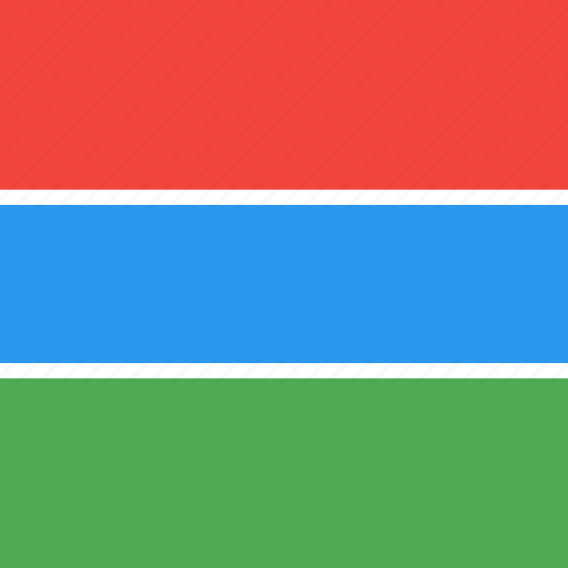 Country, flag, gambia, nation icon - Download on Iconfinder