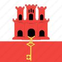 country, flag, gibraltar, nation