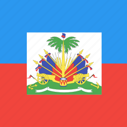 country, flag, haiti, nation icon