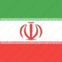 country, flag, iran, nation