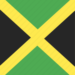 country, flag, jamaica, nation icon