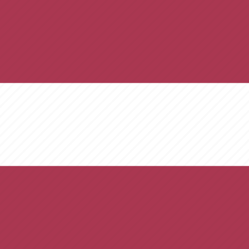 country, flag, latvia, nation icon