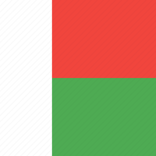 country, flag, madagascar, nation icon
