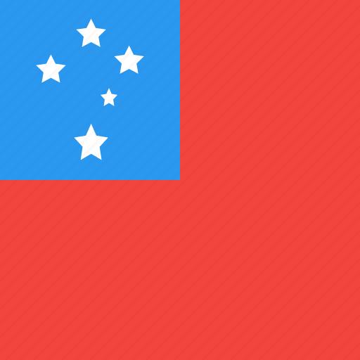 country, flag, nation, samoa icon