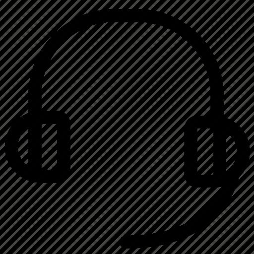 headphones, headset, music, play, speaker icon