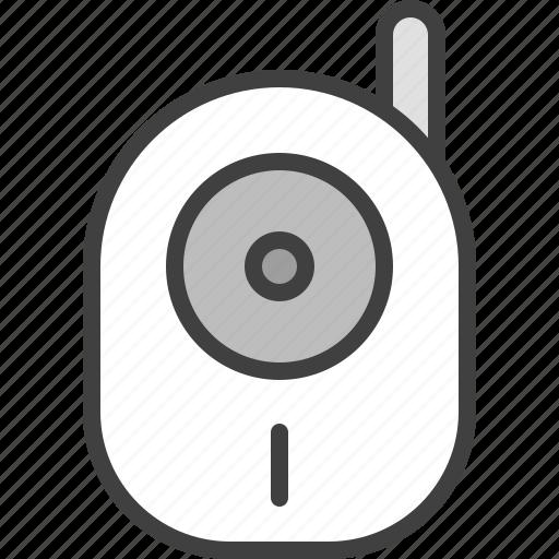 baby monitor, baby speaker, babymonitor, camera, radio, safety, wireless icon