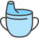 bottlre, drink bottle, flip bottle, kids water bottle, toddler cup icon