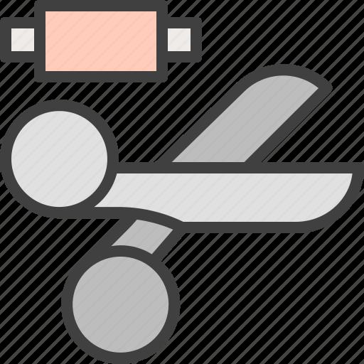 creation, cut, hobby, scissors, stationery icon