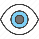 eye, ic icon