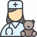doctor, children, physician, treatment, pediatrician