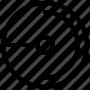 radius, circle, geometry
