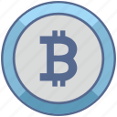b, bank, bitcoin, money, value icon