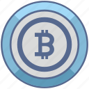 b, bitcoin, blockchain, label, money, round icon