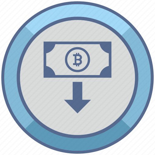 bitcoin, cash, cashout, money, transfer icon