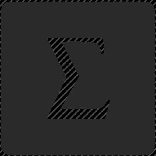 calculator, function, math, sum, summa icon