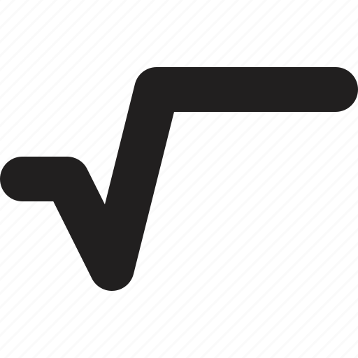 math, mathematic, root icon