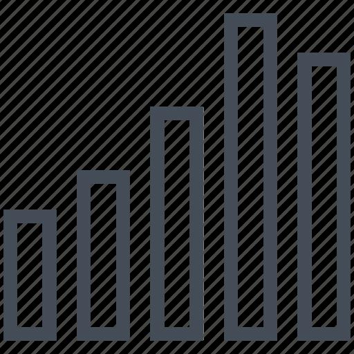 bar, chart, graph, math, mathematics icon
