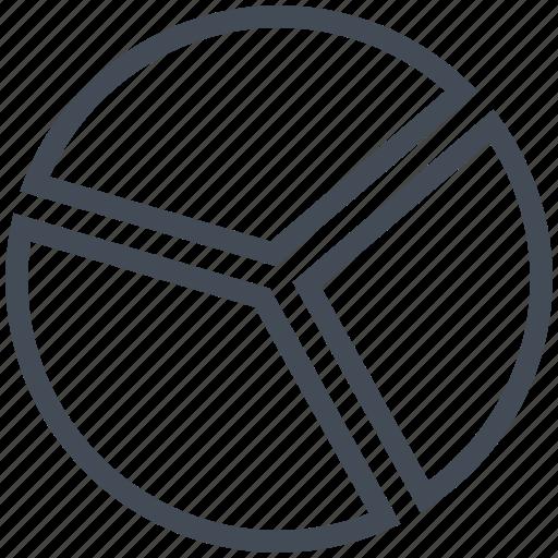 chart, circle, graph, math, mathematics, pie icon