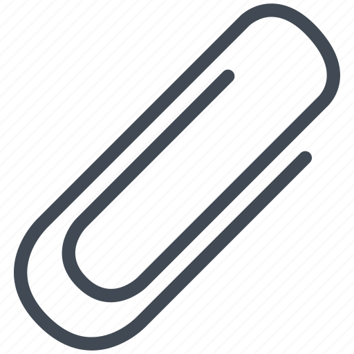 clip, mathematics, maths, paperclip icon