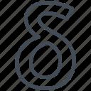 delta, letter, math, mathematics, sign icon