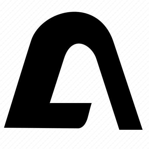 a, alfa, alphabet, greek, latin, letter icon