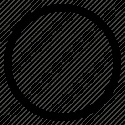 Basic, circle, geometry, round, shape icon - Download on Iconfinder