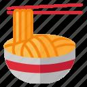 food, fried noodles, meal, noodle